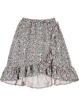 molo Molo Kids Leopard Skirt Blondie