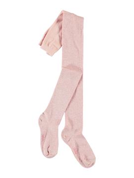 molo Molo Kids Glitter Tights - Powder Pink