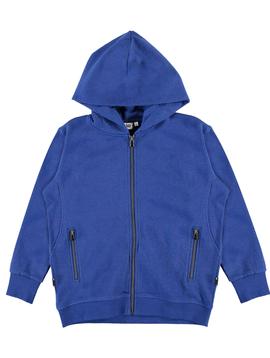 molo Molo Kids Mash Royal Zip Hoodie Sweatshirt