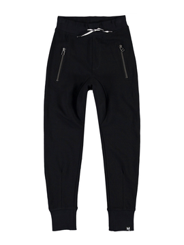 molo Molo Kids Black Ashton Sweatpants