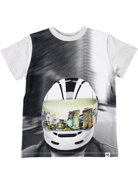 molo Molo Kids MC Helmet Road Shirt