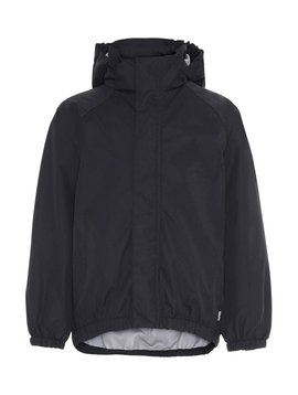 molo Molo Kids Black Rain Jacket Waiton