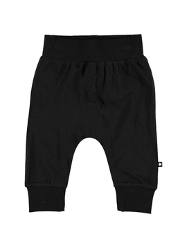 molo Molo Baby Boy Black Sammy Pants