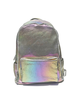Bari Lynn Bari Lynn Mini Rainbow Shimmer Backpack