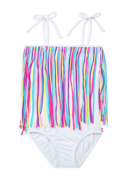 Little Peixoto Little Peixoto Fringy Swimsuit