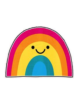 Iscream Iscream Brand Rainbow Oversized Towel