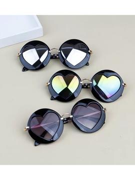 Survolte Kids Heart Sunglasses