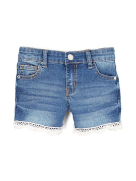 Sugar Bear Denim Lace Shorts