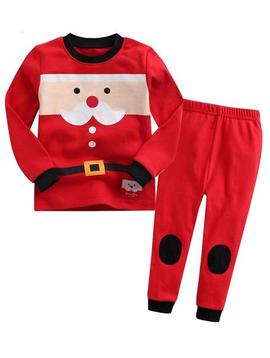 Sugar Bear Santa Pajamas