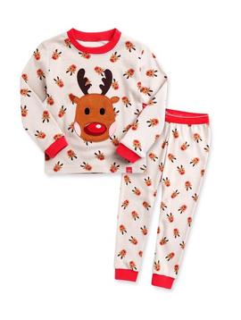 Sugar Bear Reindeer Pajamas