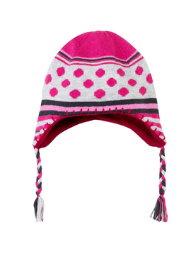 Catimini Catimini Polka Dot Knit Hat