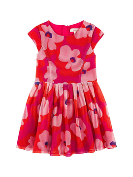 Catimini Catimini Organza Floral Dress