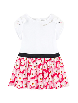 Catimini Catimini Kids Floral Voile Dress