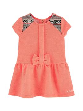 IKKS IKKS Baby Girls Coral Dress