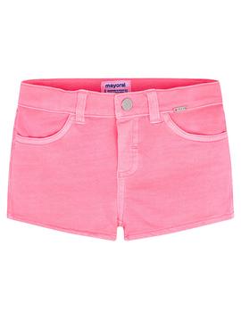 Mayoral Mayoral Girls Neon Pink Shorts