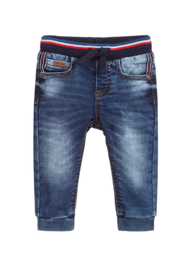 Mayoral Mayoral Baby Boy Denim Jogger Pants