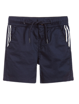 Mayoral Mayoral Baby Boy Blue Cotton Shorts