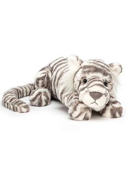 Jellycat Sacha Snow Tiger Jellycat