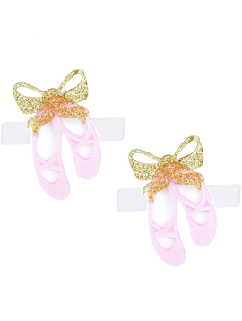 Lilies and Roses Alligator Clip - Ballet Slippers - Lilies and Roses