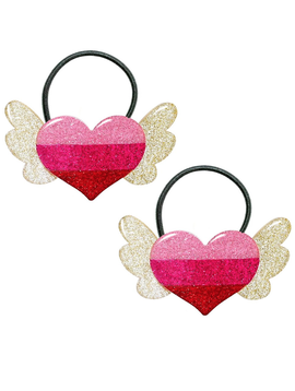 Lilies and Roses Ponytail - Winged Heart - Lilies and Roses