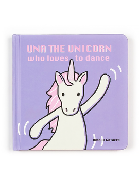 Jellycat Una Unicorn Loves to Dance Book Jellycat