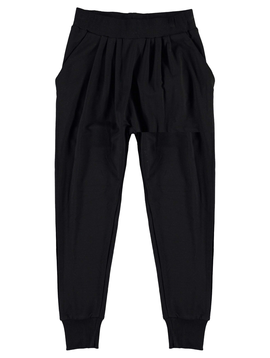 molo Molo Girls Black Viscose Pant