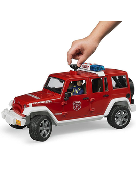Bruder Bruder Toys Jeep Rubicon Fire Vehicle