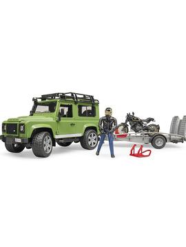 Bruder Bruder Toys Land Rover Wagon Ducati