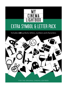 My Cinema Lightbox Extra Symbol Pack - Original