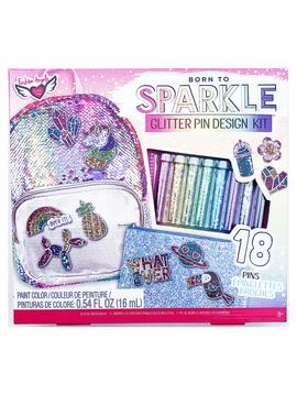 Fashion Angels Fashion Angels Glitter Pin Design Kit