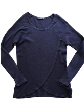 LAmade LAmade Kids Navy Dinah Top