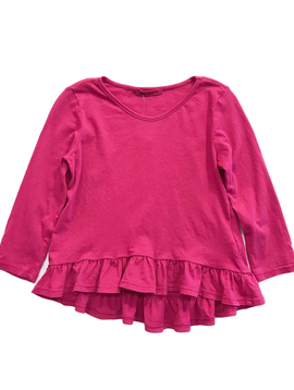 LAmade LAmade Kids Raspberry Ruffle Top