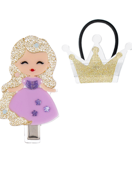 Lilies and Roses Princess and Crown Set - Lilies and Roses