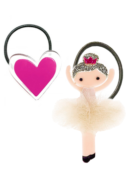 Lilies and Roses Ballerina and Heart Set - Lilies and Roses