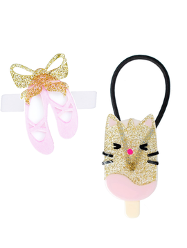 Lilies and Roses Ballet and Popsicle Cat Set - Lilies and Roses