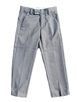 Leo & Zachary Mid Grey Slim Dress Pants Leo and Zachary