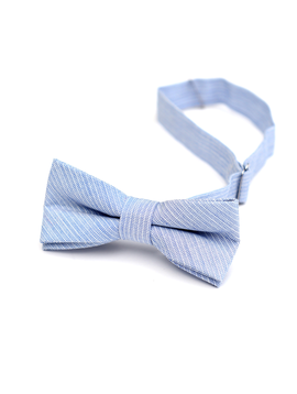 Appaman Appaman Bow Tie Sky Blue Stripe