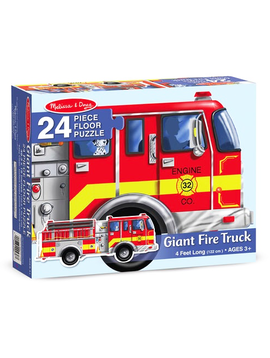 Melissa and Doug Fire Truck Floor Puzzle Melissa and Doug