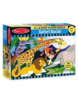 Melissa and Doug Safari Floor Puzzle Melissa and Doug