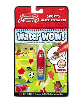 Melissa and Doug Sports Water Wow Activity Book Melissa and Doug