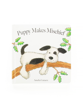Jellycat Puppy Makes Mischief Book Jellycat