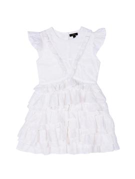 Velveteen Geena Frill Party Dress - Velveteen Clothing
