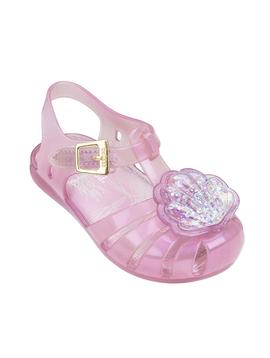 Mini Melissa Mini Melissa Pink Seashell Sandals