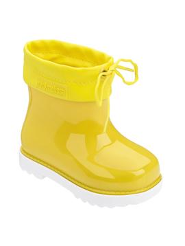 Mini Melissa Mini Melissa Yellow Rain Boots