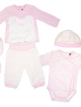 Mayoral Mayoral - 6pc Baby Girl Gift Set