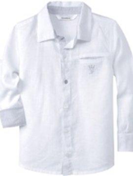 3pommes & B-Karo Linen Shirt