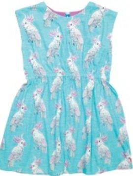 Pink Chicken Pink Chicken - Hadley Dress - Cockatoo