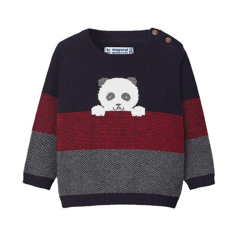 Mayoral Baby Panda Knit Sweater