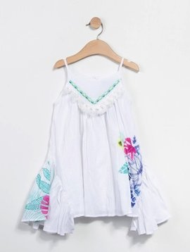 Catimini Voile White Dress