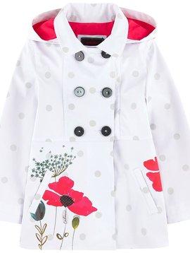 Catimini Printed Raincoat